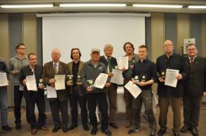 Alle stolzen Preisträger